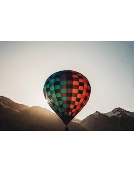 Poster montgolfière