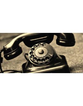 Poster téléphone vintage