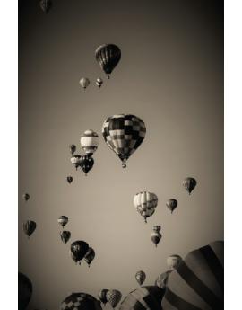 Poster montgolfières