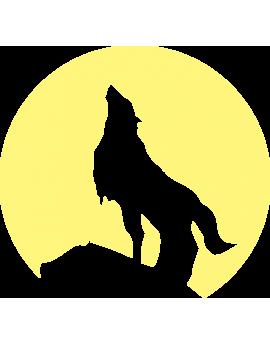 Stickers chien phosphorescents