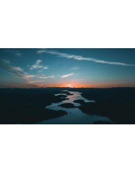 Poster coucher de soleil