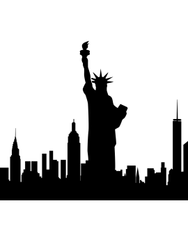 Sticker Statue de la Liberté New York