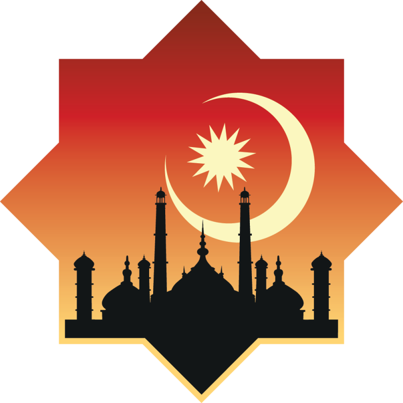 Sticker palais oriental color stickers for Sticker oriental porte