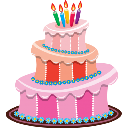 Sticker Gateau Anniversaire Bougies Color Stickers